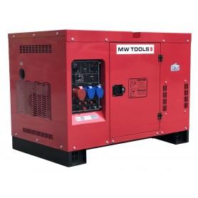 Diesel generator 15,0kW 1x230V + 3x400V  MW-Tools DG150E