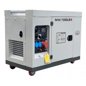Diesel generator 7,5kW 1x230V + 3x400V MW-Tools DG75E