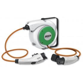 Kabelhaspel elektrische voertuigen type 1+2 Zeca EV2161
