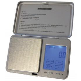 Limit LEM705 precisie weegschaal tot 500 gram