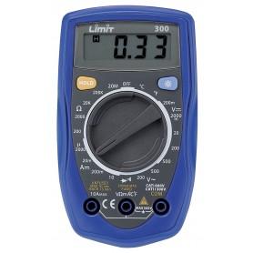 Limit LIMIT300 Digitale multimeter CAT I 600V / CAT II 300V