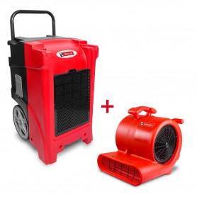 MW-Tools BDE90SETR Set bouwdroger BDE90 + ventilator RV3000