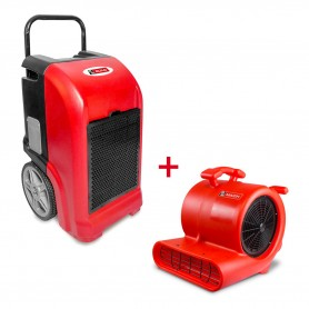 MW-Tools BDE70SETR bouwdroger BDE70 + ventilator RV3000