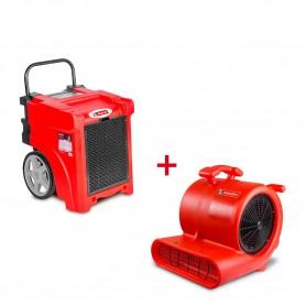 MW-Tools BDE50SETR Set bouwdroger BDE50 + ventilator RV3000