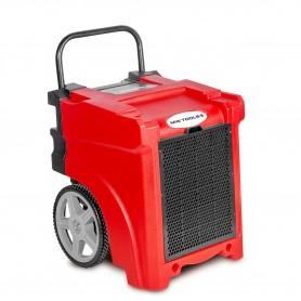 MW-Tools BDE50 Industriële bouwdroger 50L/dag in PE met afvoerpomp.