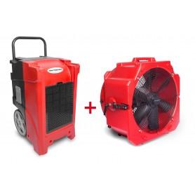 MW-Tools BDE90SETA Set bouwdroger BDE90 + ventilator MV500PP