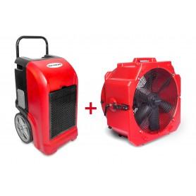MW-Tools BDE70SETA Set bouwdroger BDE70 + ventilator MV500PP