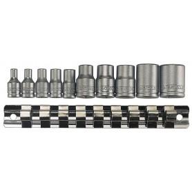 """Teng Tools M3814 E-torxset 1/4"""" + 3/8"""" 11 dlg"""