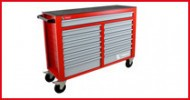 Lege gereedschapskoffers & wagens