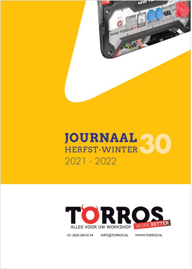 cover cataloog NL torros